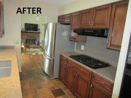 refinishing kitchen cabinets oakville kitchen cabinet refacing project in oakville mo cabinet