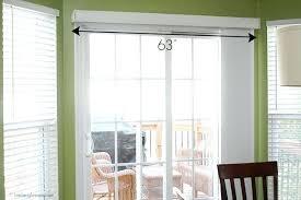 Patio Door Curtain Rod Curtain Rods For Door Abundantlifestyle Club