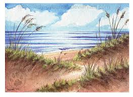 watercolor sand dunes by lady cybercat on deviantart