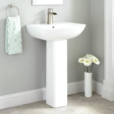 convert pedestal sink to vanity pedestal sink under towel bar plumbing hide rack studio creative info