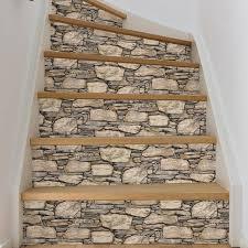 wood and wallpops hadrian 18 x 20 5 brick wood and wallpaper