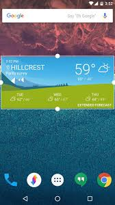get sony u0027s xperia weather on any android device