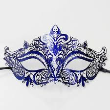 blue masquerade masks s masquerade masks for men and women free shipping
