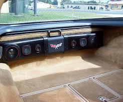 1992 corvette parts 1963 1982 corvette rear speaker 200w sound bar davies corvette