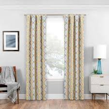 Gold And White Curtains Gold Curtains Drapes Window Treatments The Home Depot