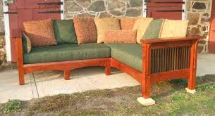 Mission Style Loveseat Prairie Style Furniture