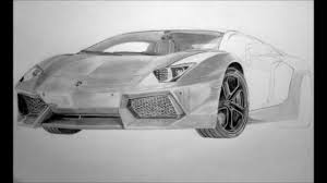 lamborghini huracan sketch drawn lamborghini lamborghini aventador pencil and in color