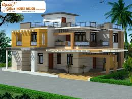 Duplex House Plans Designs Duplex House Design Apnaghar House Design Page 2