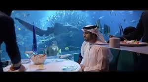 burj al arab jumeirah al mahara restaurant introduction youtube