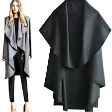 New 2015 chegada nova estilo verão Colete Feminino moda capa de lã  @YU01