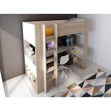 lit mezzanine avec bureau intégré lit mezzanine avec dressing