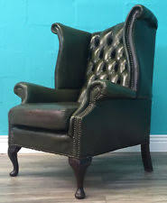 Leather Chesterfield Armchair Rejuvenate Your Home With Green Leather Armchair U2013 Bazar De Coco