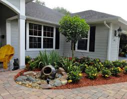 patio u0026 outdoor small front yard landscape ideas with trees and