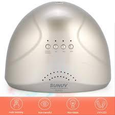 sunuv sunone led uv nail lamp light gel polish cure nail dryer