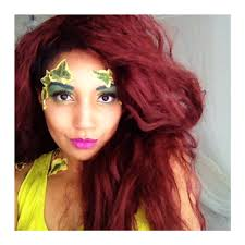 easy halloween make up looks poison ivy part two u2013 jade gabriell