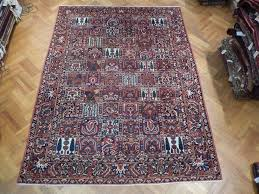 Persian Rug Mouse Mat by 9x12 Persian Bakhtiari Rug Garden Multi Color Strong Iran Rug Ebay