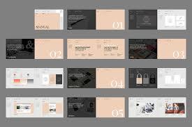 brand manual template palermo