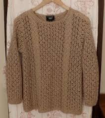 vintage ungaro sweater black with geese motif emanuelungaro