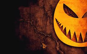 halloween pumpkins and spider web drawing hd wallpaper