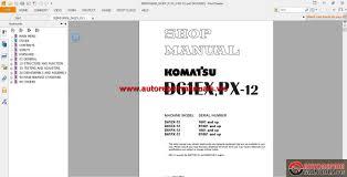 komatsu bulldozers d61ex 12 shop manual auto repair manual forum