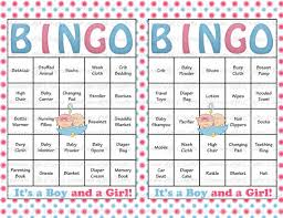 baby shower bingo 30 baby shower bingo cards printable party baby boy and girl