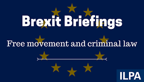 brexit briefing eu free movement and criminal law free movement