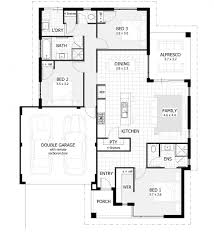 Low Cost House Design by 3 Bedroom Floor Plan With Dimensions Flat And Design Small House