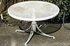 Old Metal Outdoor Furniture by Antique Metal Patio Furniture Icamblog White Iron Patio Furniture