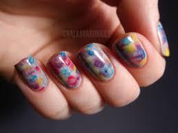 watercolor nails chalkboard nails nail art blog
