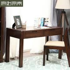 Oak Study Desk Table Former Prime Raw New Wood Furniture Study Desk Minimalist