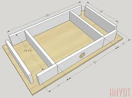 compact space saving desk plans diywithrick