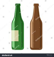 cartoon beer no background cartoon illustration beer bottles on white stock vector 550914295