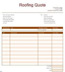 roof repair estimate template roofing estimate roof replacement