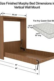 Queen Size Murphy Bed Kit Queen Size Wall Bed Diy Hardware Parts Kit Vertical Wall Mount