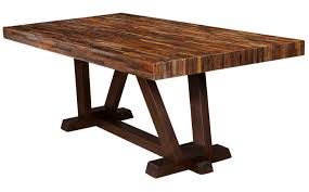 Old Wooden Table And Chairs Reclaimed Peroba Wood Furniture Zin Home Blog