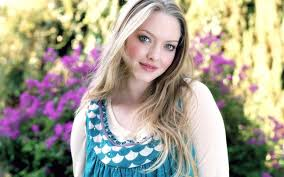 amanda seyfried desktop wallpapers amanda seyfried in a blue dress hd desktop wallpaper widescreen