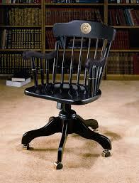 princeton swivel desk chair black at the u store online