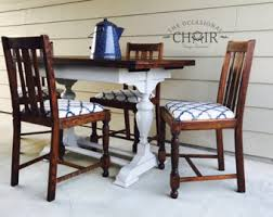 Vintage Oak Dining Table Etsy - Antique oak kitchen table