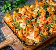 pasta bake recipes cheesy pasta bake with chicken and bacon nicky s kitchen sanctuary