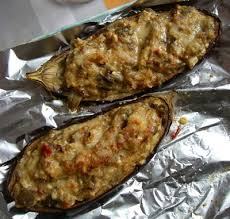 cuisiner aubergine recette aubergine farcie au tofu facile et rapide
