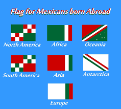 Mexicans Flags The Voice Of Vexillology Flags U0026 Heraldry Flag Chart For