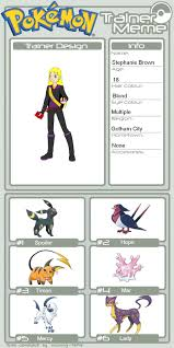 Pokemon Meme Generator - comic heroes in pokemon stephanie brown by maidenmarvel on deviantart