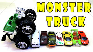 Monster Truck For Children Train Engine Crash Wheels Cars