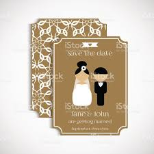 Wedding Invitation Cards With Photos Set Of Vintage Wedding Cards Wedding Invitation Card Banner Tag