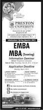 preston university spring quarter mba admissions 2017 learningall