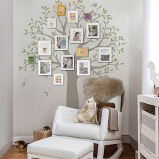 Wall Decals For Living Room Narrow Family Tree Decal Two Colors Wall Decals
