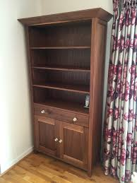 living room furniture freestanding bookcase by cabinet maker