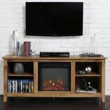 Electric Fireplace Heater Tv Stand by Media Electric Fireplace Tv Stand Brown 50 Heater W Remote