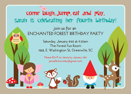 5th birthday party invitation wording invitations templates