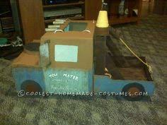Tow Mater Halloween Costume Mater Tow Truck Costume Creative Halloween Costumes Tow